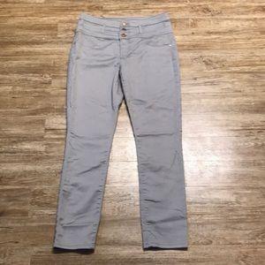 Refuge Grey/Silver Skinny Jeans